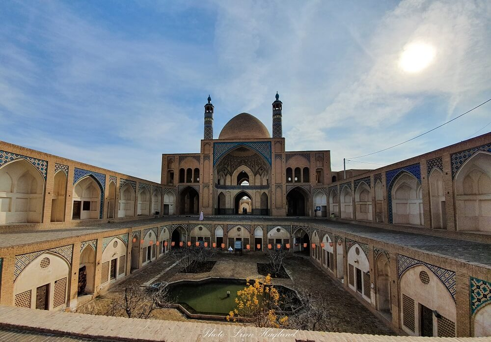 Agha Bozorg Mosque, Kashan Iran