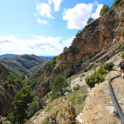 How to hike El Saltillo – Malaga hiking off the beaten path