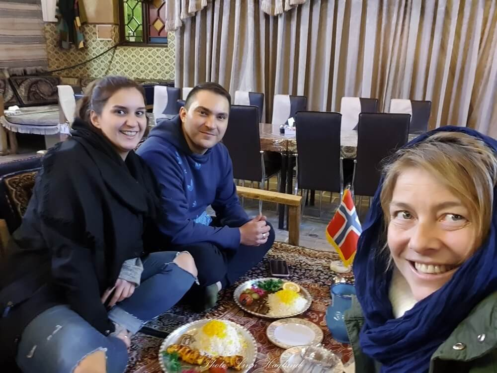 The friendly people are the main reason why you should travel to Iran