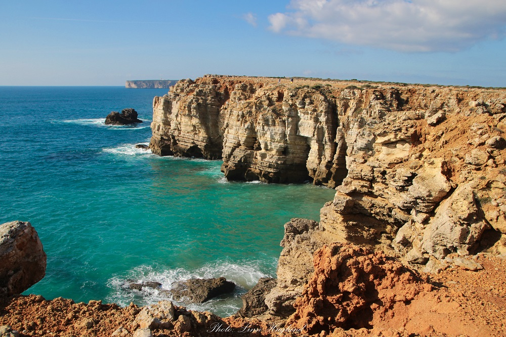 Sagres cliffside is a top Lagos sightseeing spot