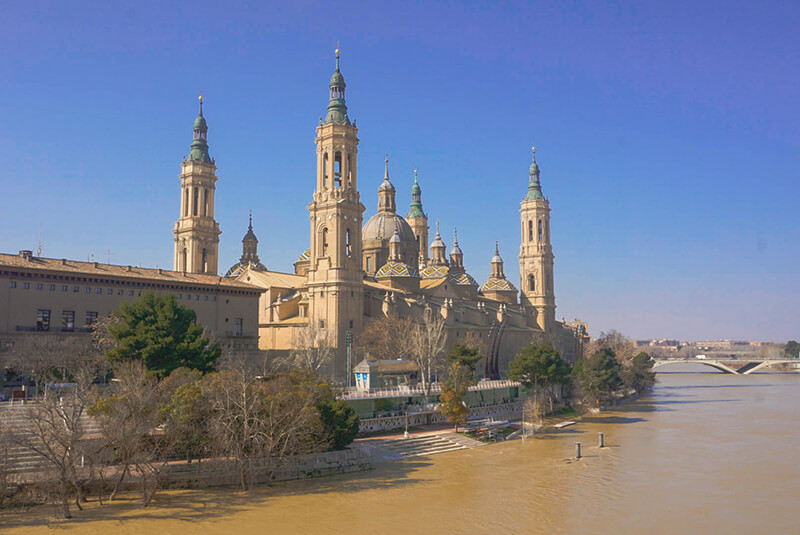 Off the beate path Spain in Zaragoza