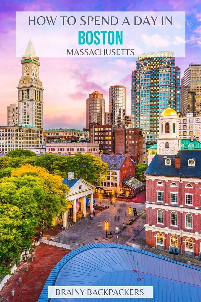Planning a day trip to Boston? This is the ultimate one day in Boston itinerary! #responsibletourism #daytrip #boston #traveltips #itinerary #cityguide #travel #usa #unitedstates #america