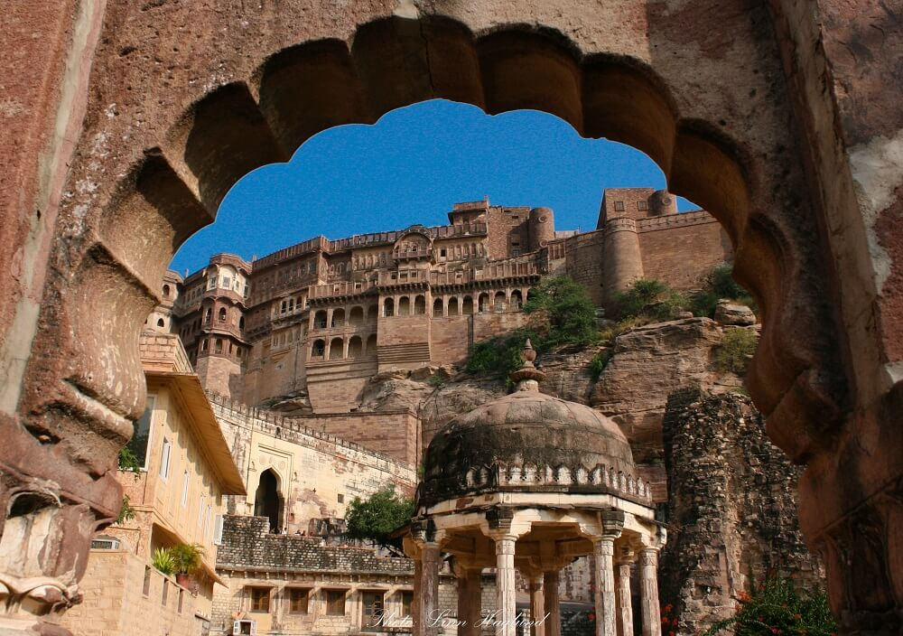 Rajasthan beautiful places -Jodhpur palace