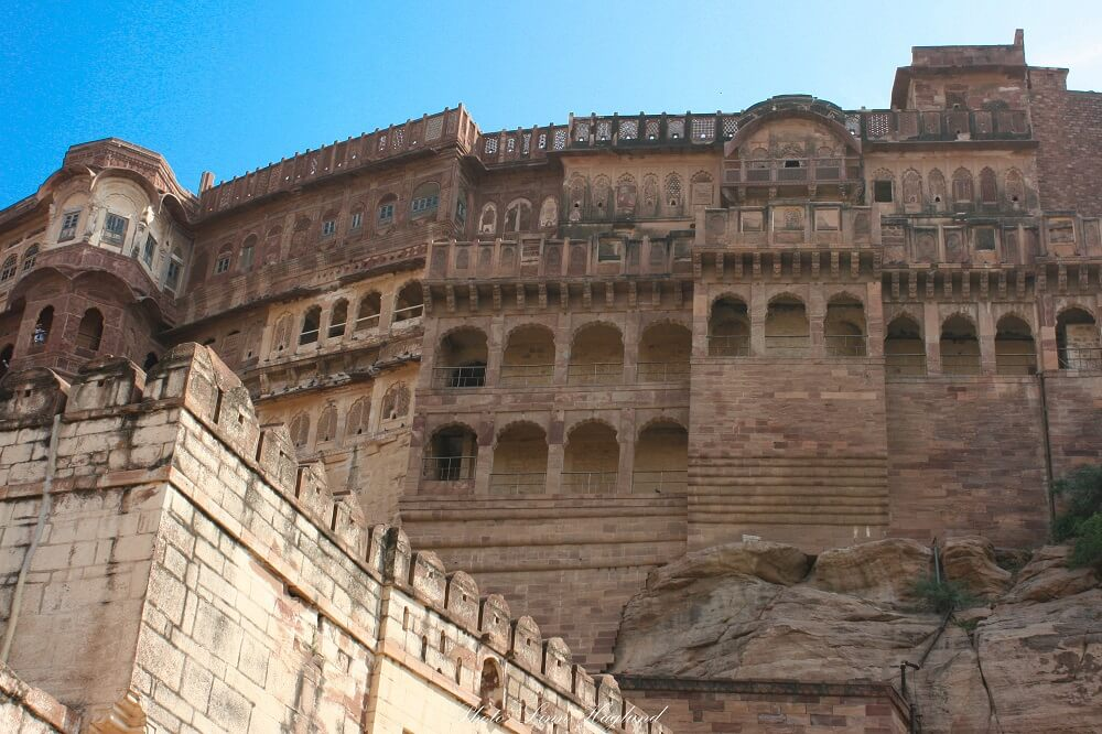 Mehrangarh Fort is one of the most famous places in Ragasthan