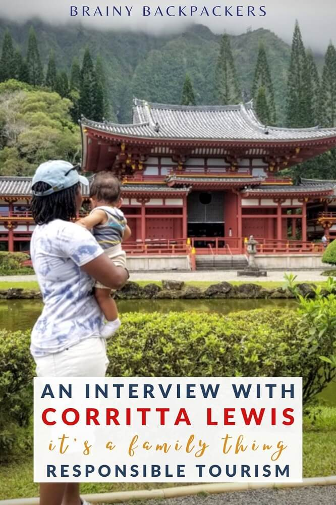 Responsible travel as a family? Absolutely! Coretta Lewis from the travel blog It's A Family Thing tells you all about it in this inspiring interview about responsible tourism. #responsibletourism #sustainabletourism #travel #interview #brainybackpackers #sustainability