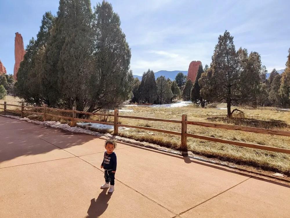 Hiking Garden of the Gods in Colorado Springs