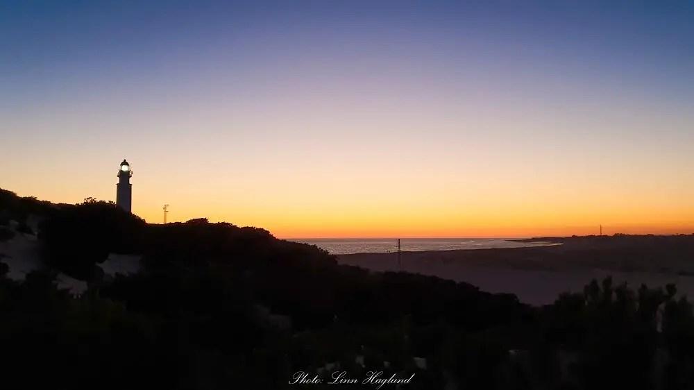 Sunset at Cape Trafalgar in Los Caños de Meca