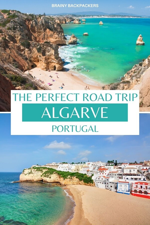 Planning a road trip in Algarve? Here is the perfect Algarve road trip itinerary! #responsibletourism #algarve #portugal #europe #traveltips #travelitinerary #itinerary #roadtrip #sustainabletourism #brainybackpackers