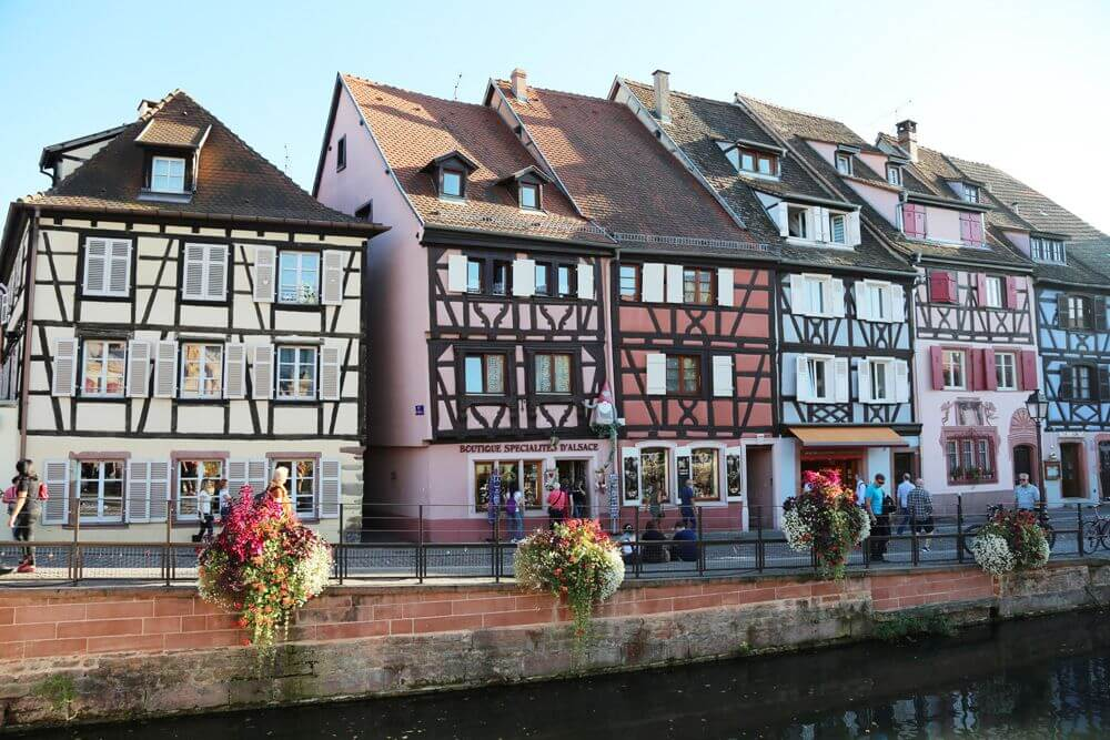 There are easy train rides from Paris to the beautiful town ColmarColmar