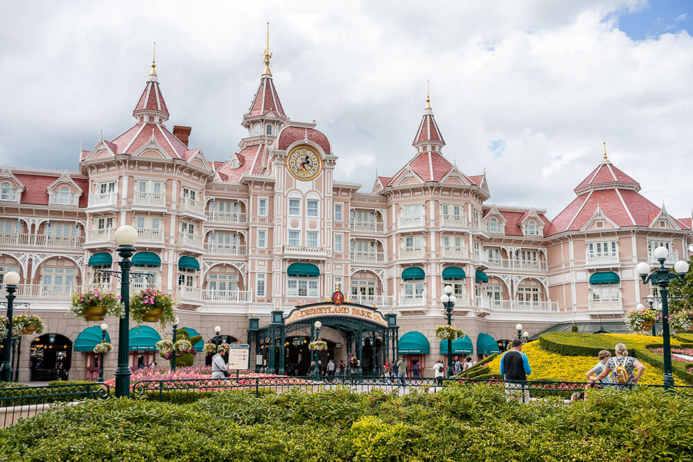 Disneyland Paris it the perfect day trip from Paris by train