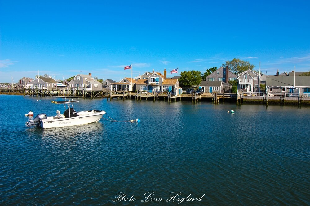 Houses on Nantucket island