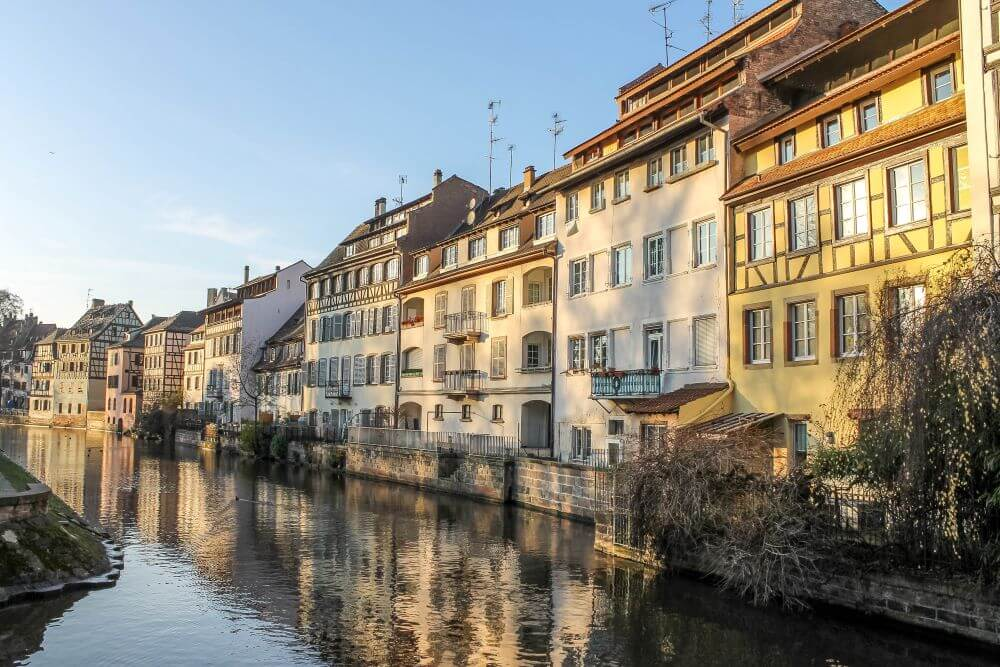 day trips from Paris by train to Strasbourg, Germany