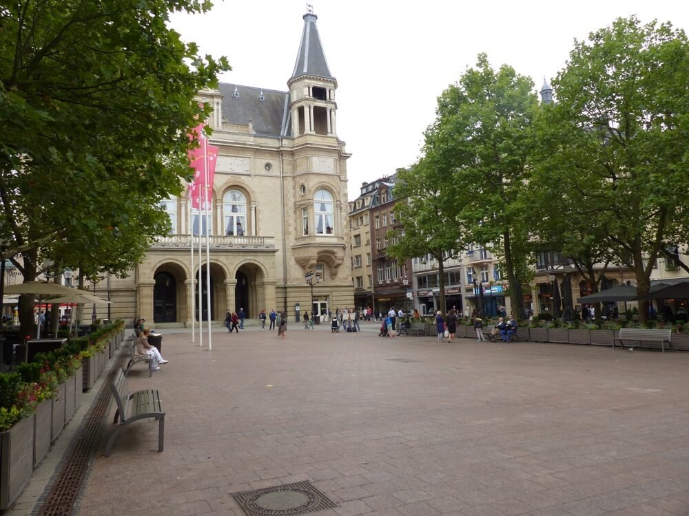 luxembourg is only a day trip from Paris