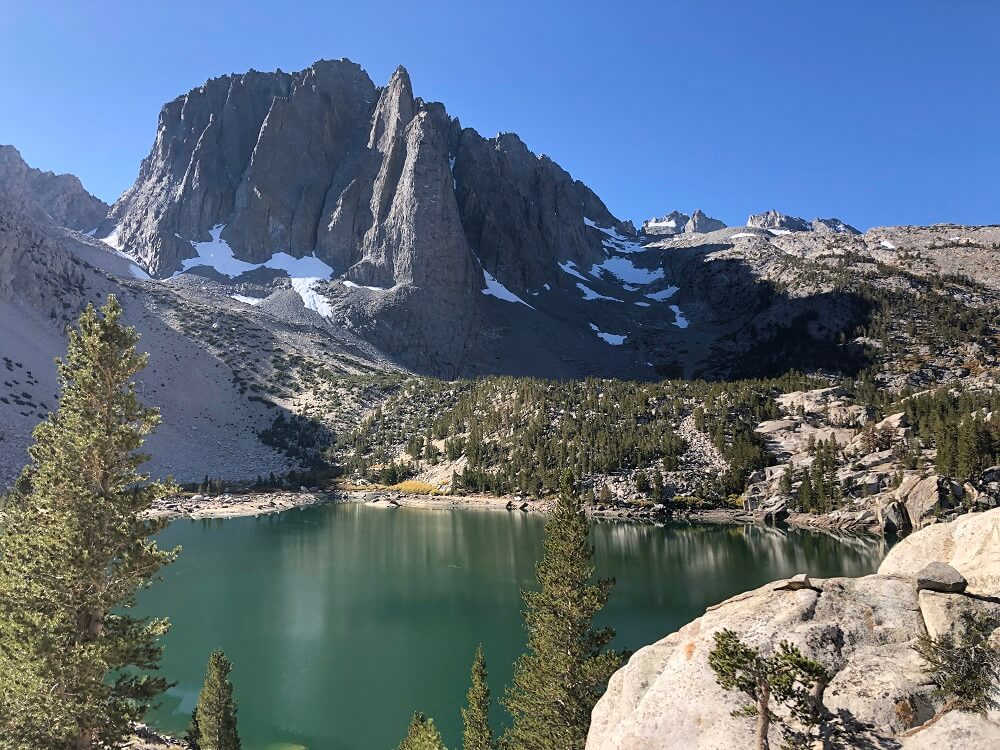 Big Pine Lakes is one of the best hiking trails in southern California