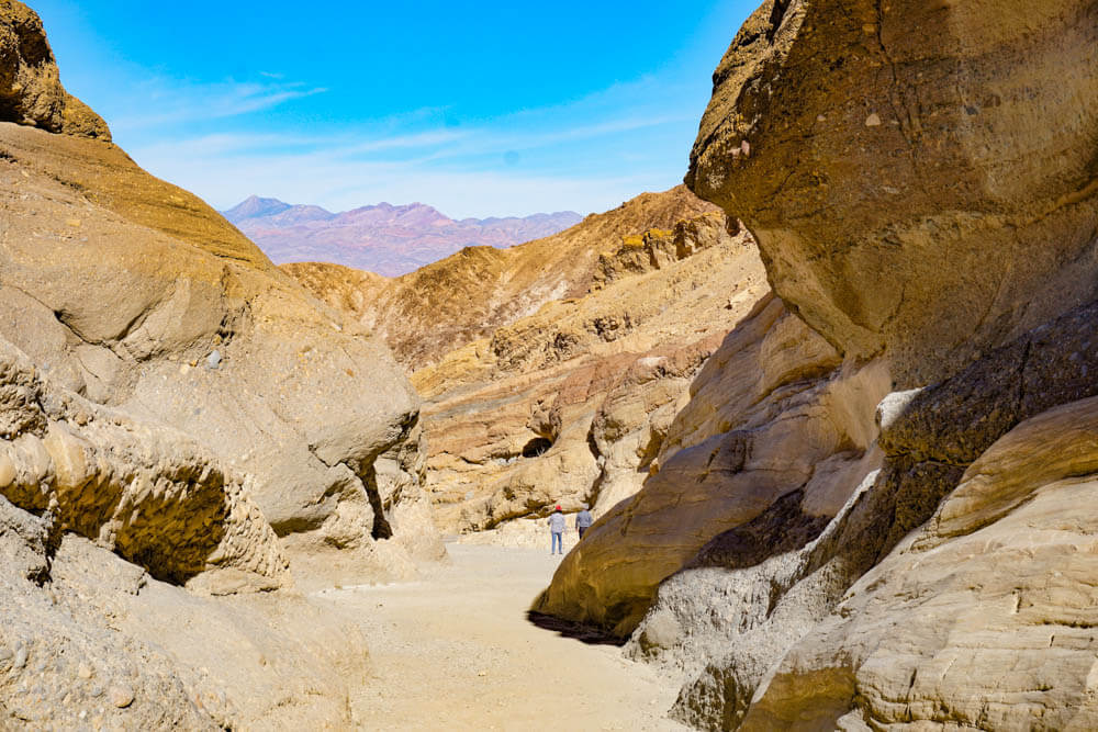 Death Valley offers unique hikes in southern California, like Mosaic Canyon