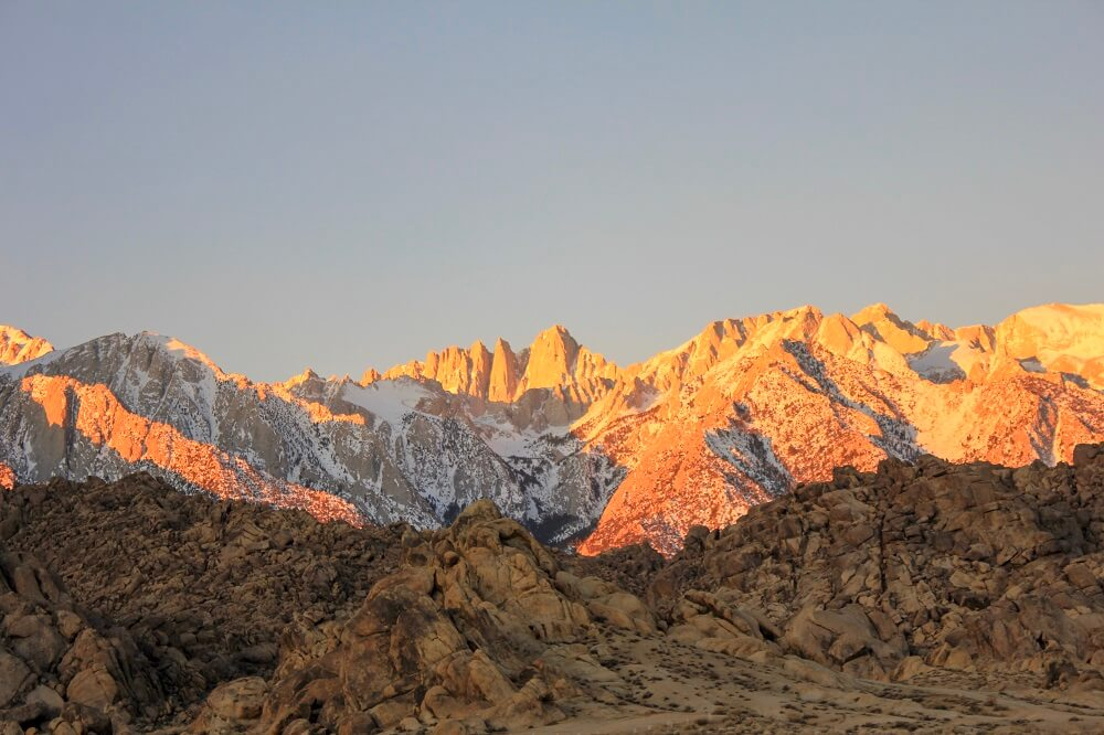Mt. Whitney is the best hiking southern California has to offer