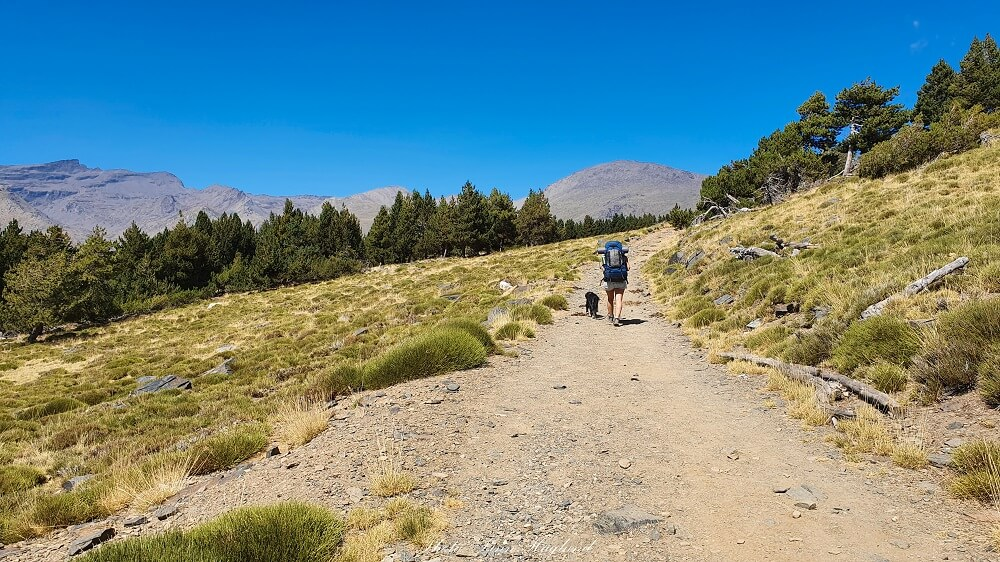 Mulhacen hiking trail