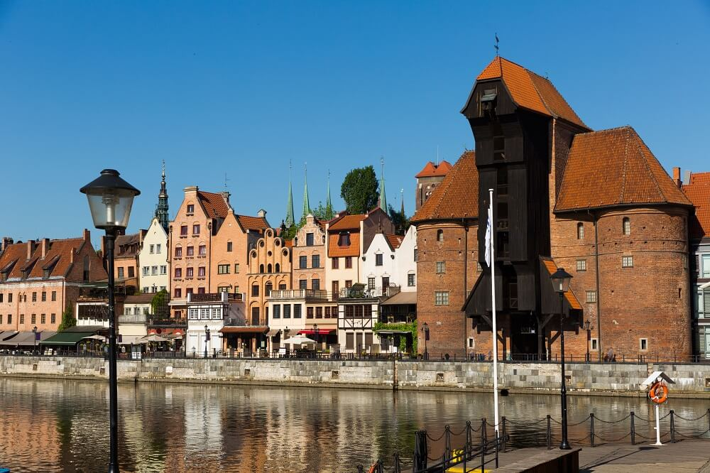 Visit Zuraw on the Motlawa River is one of the top things to do in Gdansk