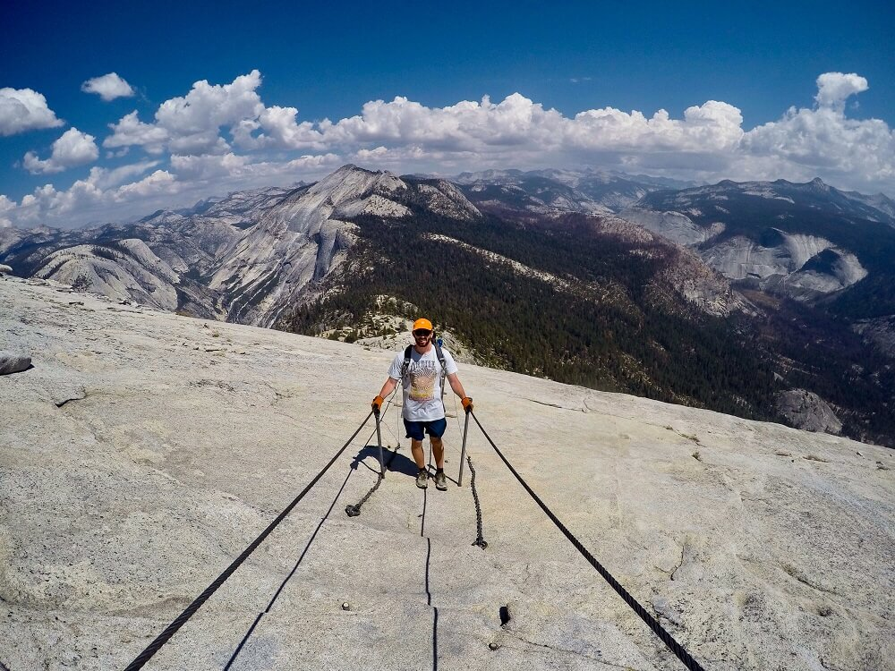 Half Dome day hike