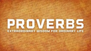 PROVERBS SAYINGS