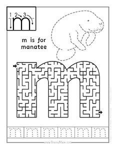 Alphabet Mazes Free From Brainymaze