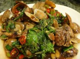 Sauteed Sea Clam With Ginger