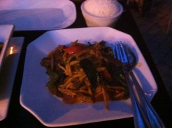 Beef in Spicy Sauce With Bamboo Shoots