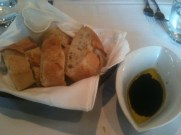 Warm Bread and Olive Oil and Balsamic Dressing