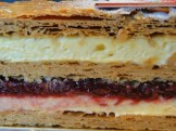 Layers of the Strawberry Milles-Feuilles