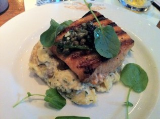 Grilled Scottish Salmon