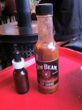 House Hot Sauce and Jim Bean Hot Sauce