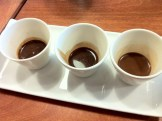 From Left to Right: Dark, Semi-Sweet and Sweet Cocoa