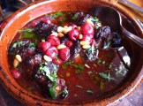 Sour Cherry Kefta WIth Pine Seeds