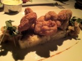 Crisp Sweetbreads With Cabbage, Apple and Macadamia