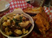 Lobster Grilled Cheese and Poutine