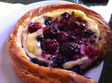 Fruit and Custard Pastry