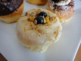 Orange Blueberry Yogurt Donut