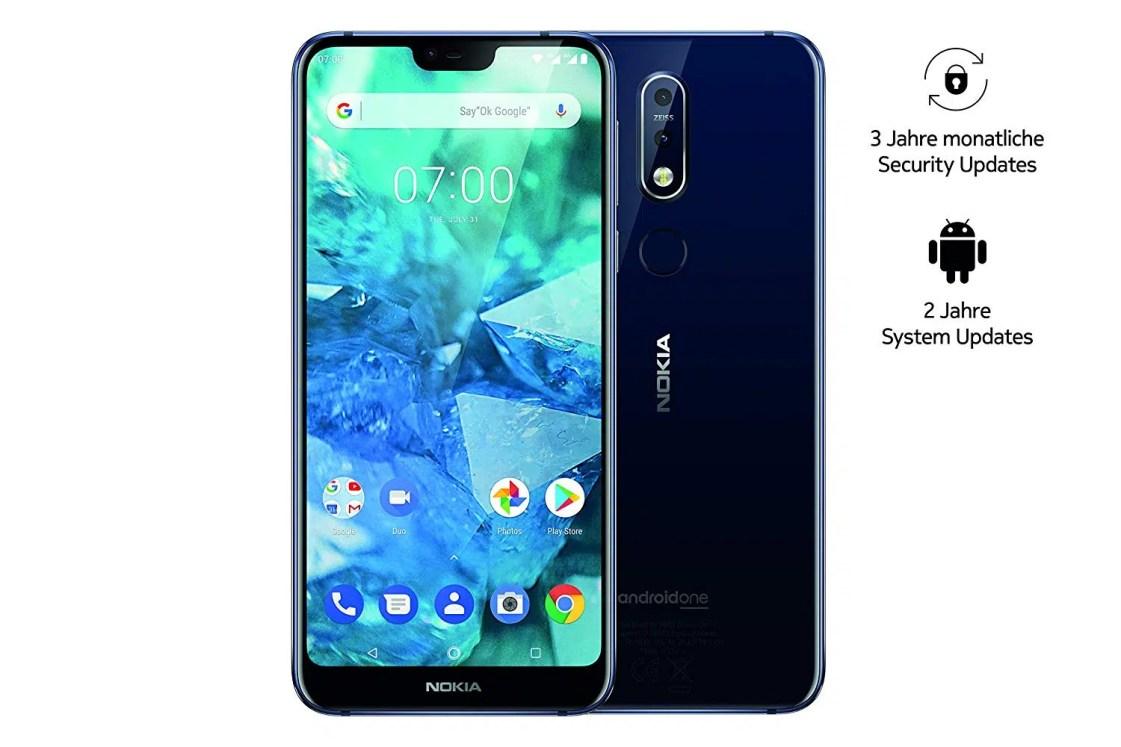 Nokia 7.1 napred