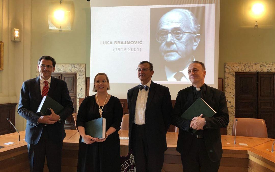 Tesis doctoral sobre Luka Brajnović