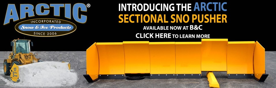 Arctic Sectional Snow Pusher