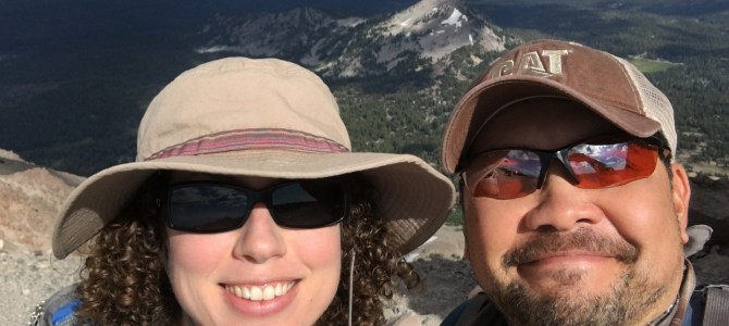 Lassen Peak – The Travels Finally Begin!