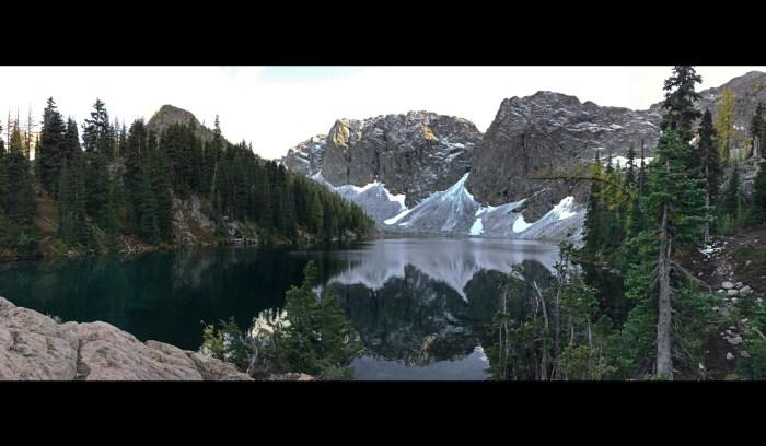 Full view of Blue Lake