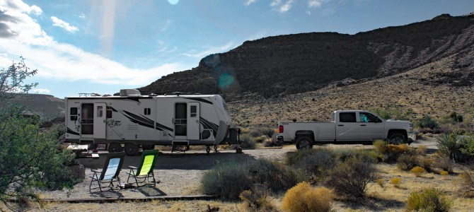 Boondocking Test in the Mojave Desert