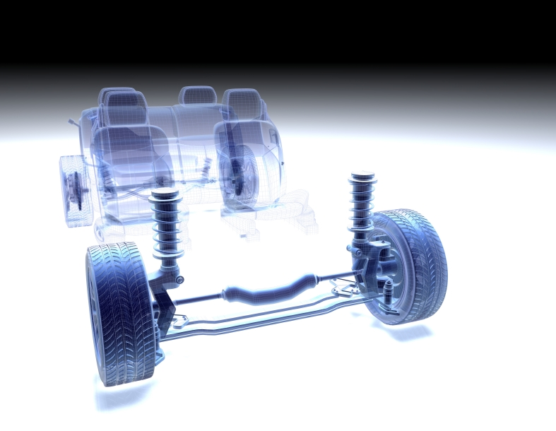 Transparency of Struts in a Car's Suspension System