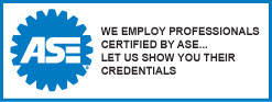 Brakes and Beyond:  We employ ASE certified professionals... Let us show you their credentials.