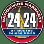 24 Month / 24,000 Mile Nationwide Warranty Program