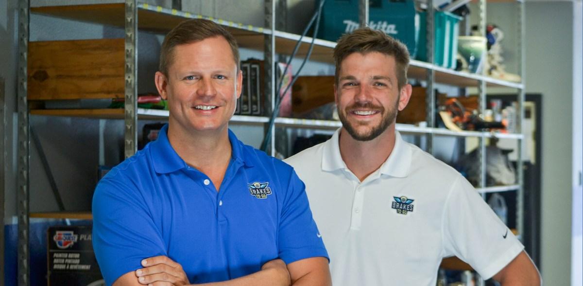 Randall and Jonathan Brakes to Go Leadership