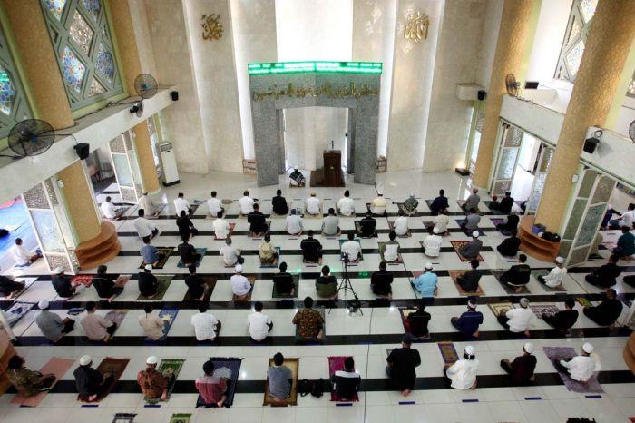 Protokol Kesehatan Selama Beribadah di Bulan Ramadan Tetap Penting