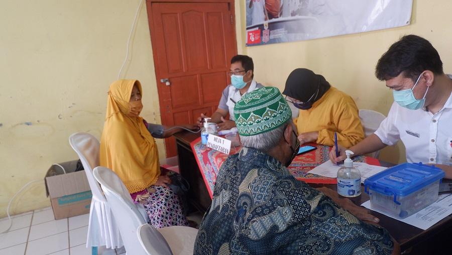 Bangun Kekebalan Komunal, Desa Serayularangan Gelar Vaksinasi Berhadiah Wedus!