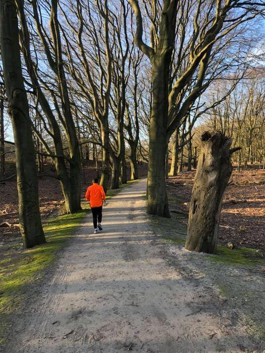 Corona halve marathon van Haarlem